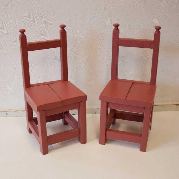 Kinderstoeltjes Roest Rood