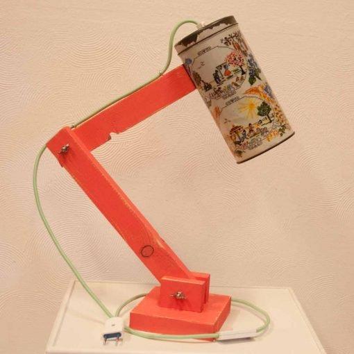 Leuke tafellamp voor in je woonkamer - Vintage Lichtblik 4 seasons pink