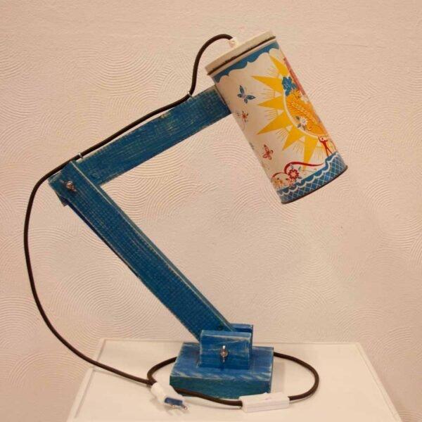 Hip en handgemaakte tafellamp - Vintage lichtblik sunshine