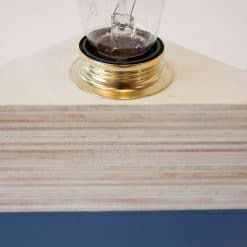 Design houten lamp, Layer Light Triangle