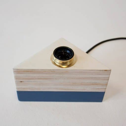 Design houten lamp, Layer Light Triangle