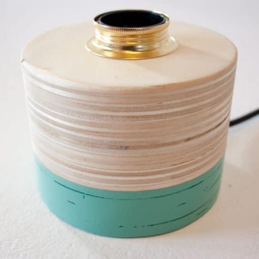 Trendy houten tafellamp, Layer Light Circle