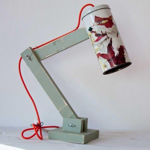 Design tafellamp - Vintage Lichtblik Lowieke