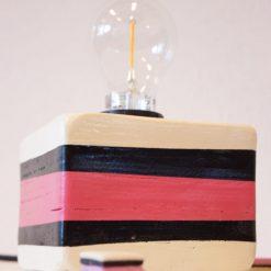 Kinderslaapkamer verlichting Engels Drop Lampje Roze