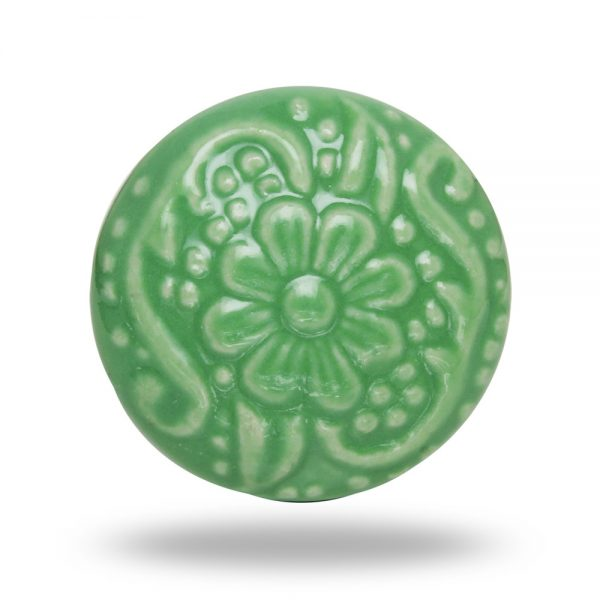 ceramic-revival-dark-green-flower