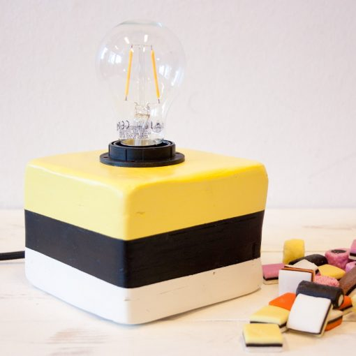 Unieke sfeerverlichting Engels Drop Lampje Geel