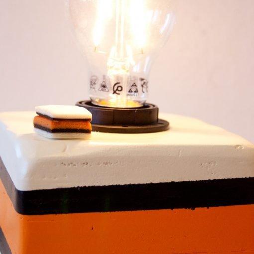 Engels Drop Lampje Oranje