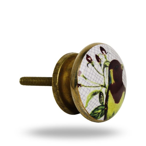 Ceramic Passaro Knob