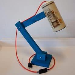 Originele tafellamp - Vintage Lichtblik Bakker