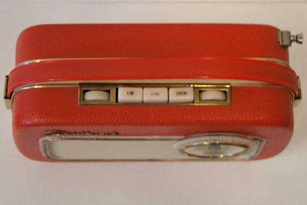 Transistor Südfunk Red