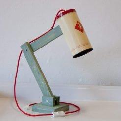Toffe tafellamp voor op je nachtkastje - Vintage Lichtblik Ik wil Bolletje