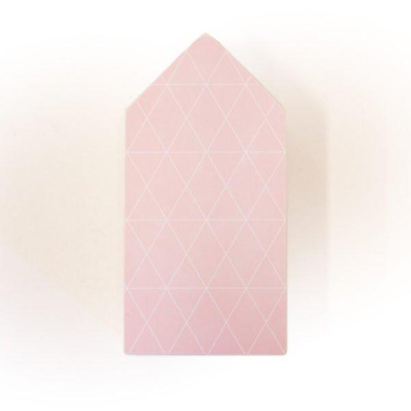 Huisje Roze M