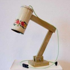 Tafellamp van de blokker - Vintage Lichtblik Gold