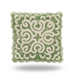 Ceramic Green Stamp