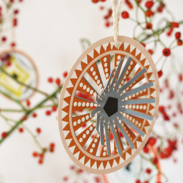 Jurianne Matter Circles Ornaments